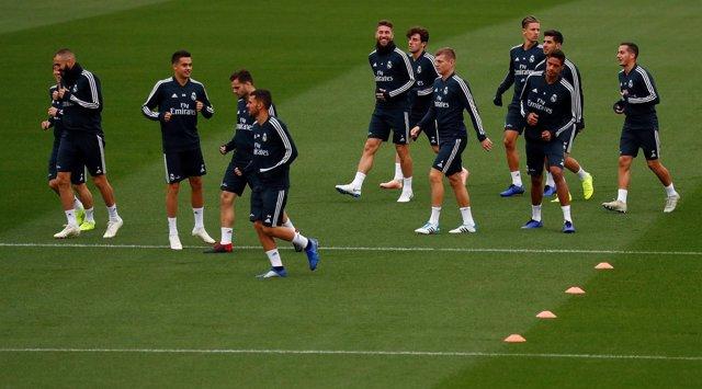 Soccer Football - La Liga Santander - Real Madrid Training - Ciudad Real Madrid,