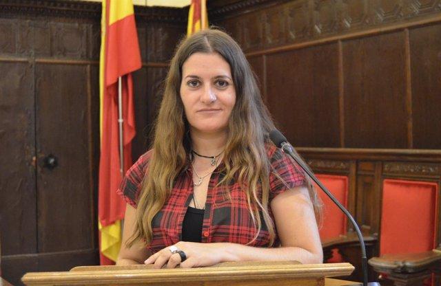 La concejala de Sagunt María Giménez