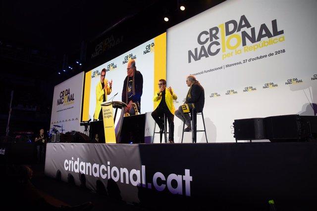 PRIMER ACTO DE CRIDA NACIONAL PER LA REPÚBLICA EN MANRESA