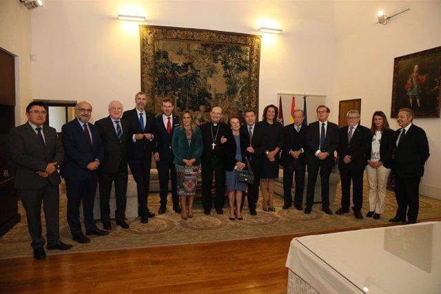 Firma de convenios de colaboración entre C-LM y Burgos