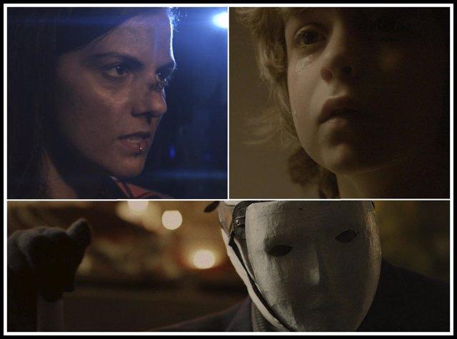 Fotogramas de los cortometrajes premiados en el Horror Online Art Festival 2018