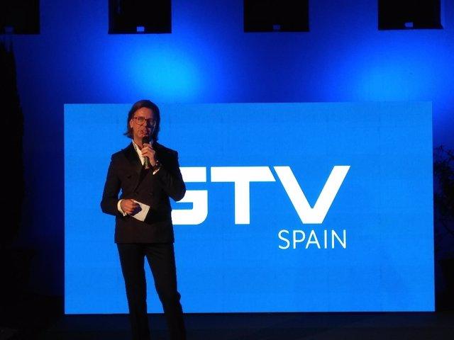 El presidente de GTV presenta GTV Spain