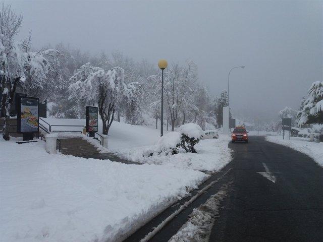 Nieve en Euskadi (archivo)