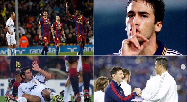 Clásicos Barcelona Real Madrid Camp Nou