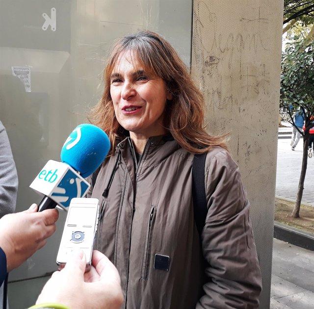 La parlamentaria de EH Bildu Nerea Kortajarena