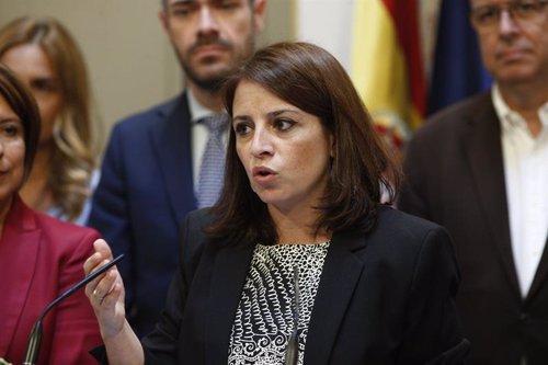 Lastra afirma que Pedro Sánchez