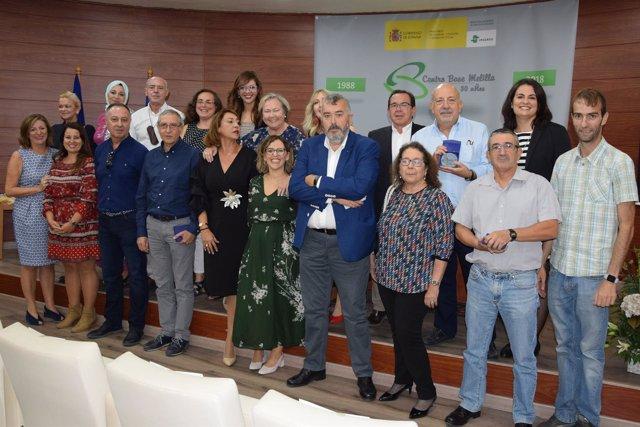 Celebración del 30 aniversario del Centro Base del Imserso en Melilla