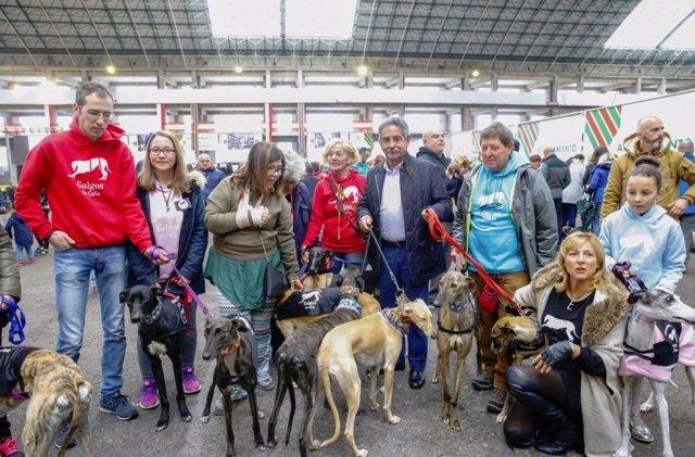 Revilla visita la Feria de Adopción Responsable