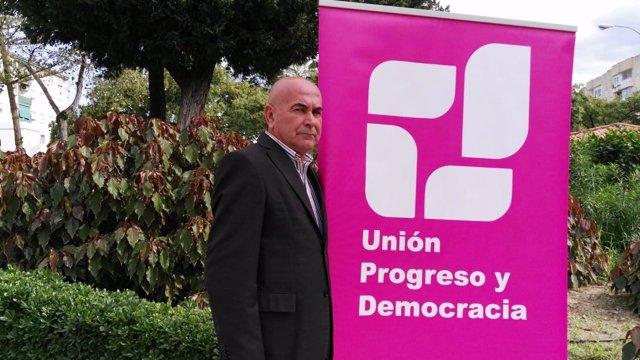 Ricardo Mercado, candidato de UPyD a la Junta de Andalucía