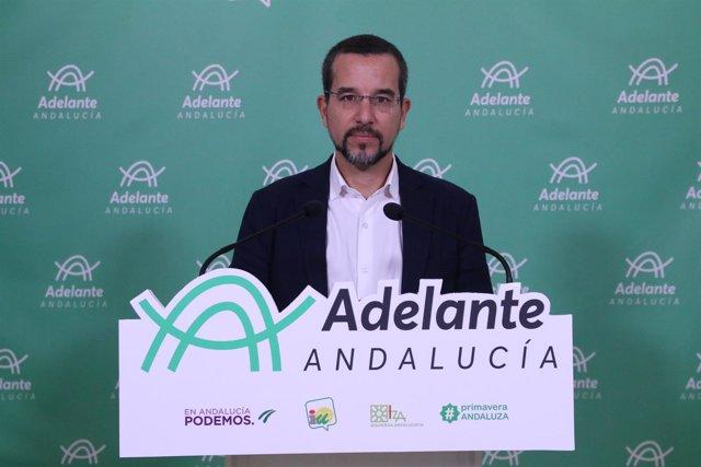 Diputado andaluz y portavoz de Podemos en la Comisión de Fomento del Congreso
