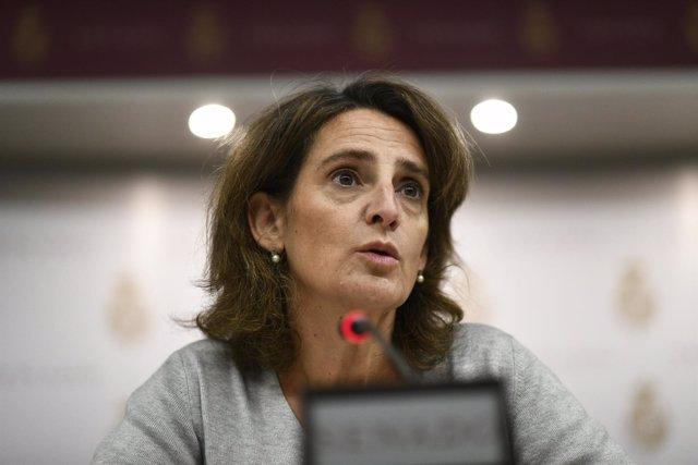 Teresa Ribera comparece en una comisión de Transición Ecológica