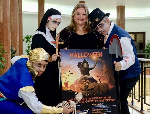 Presentación de las actividades de Halloween