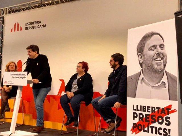 El presidente de ERC en el Parlament de Catalunya, Sergi Sabrià