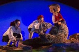 Escena de 'Namor, el niño pez'