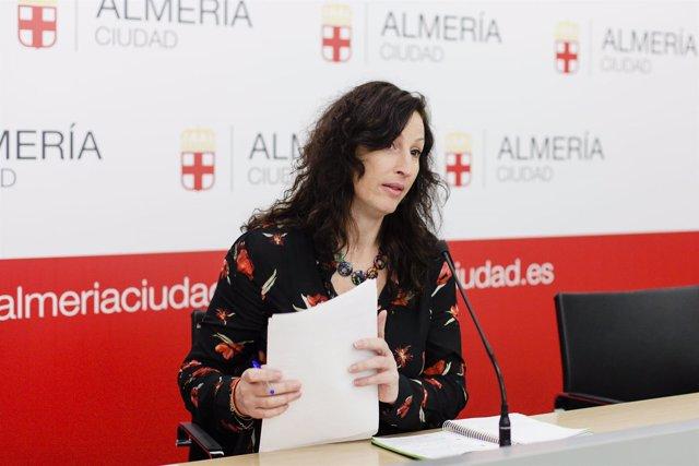 La socialista María Vázquez