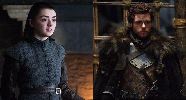 Arya y Robb