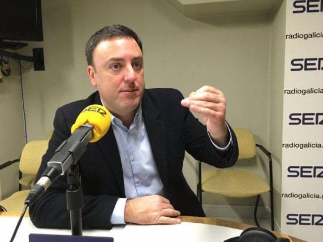 Valentín González Formoso, en entrevista en Radio Galicia Cadena Ser