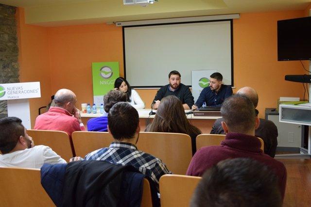 Jornadas de Nuevas Generaciones del PP Huesca.