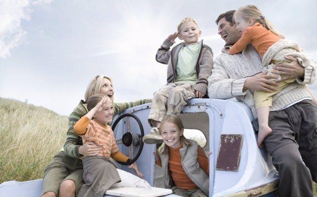 Las familias numerosas, una solución a las pensiones