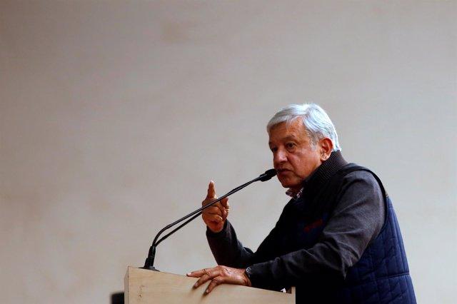 Presidente electo Andrés Manuel López Obrador
