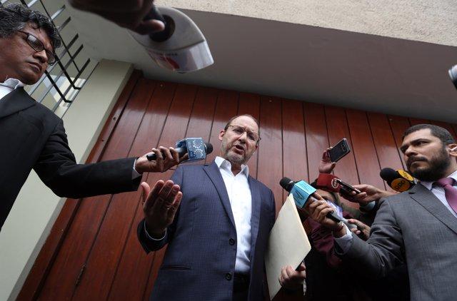 Jose Chlimper, miebro del directorio del BCR, en 2017.