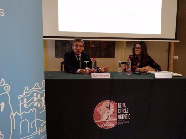 Josep Malhey y Susana Puig