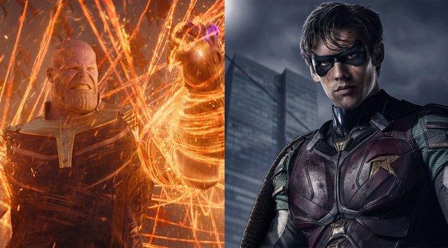 Infinity War  de Marvel vs Titans de DC