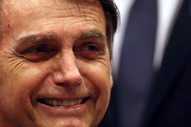 El político brasileño Jair Bolsonaro