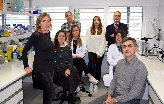 Profesionales del grupo de investigación 'Células madre, ciclo celular y cáncer'