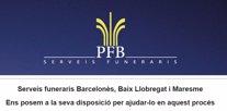 Web de PFB-Serveis Funeraris per elaborar pressupostos