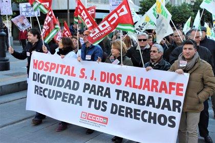 """CCOO critica la """"grave sobrecarga"""" de los enfermeros del servicio de hospitalización del Hospital del Aljarafe (Sevilla)"""
