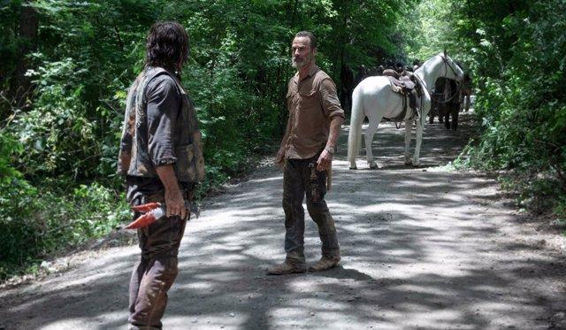 Rick y Daryl en The Walking Dead