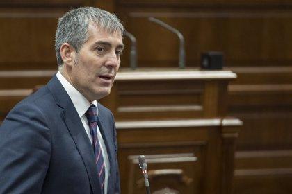 Clavijo achaca la baja ejecución presupuestaria a la falta de convenios y la tardía aprobación de los PGE