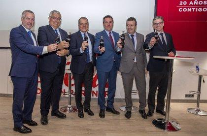 Coca-Cola invertirá 44 millones en su planta de La Rinconada (Sevilla), su mayor embotelladora de Europa Occidental