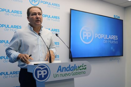 """PP Huelva califica de """"nueva pantomima"""" la reunión de la Diputación y el Ayuntamiento en el Ministerio de Fomento"""