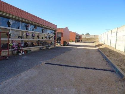 El Ayuntamiento de Huesca acomete varias mejoras en el cementerio