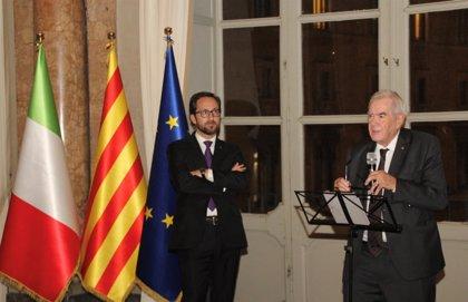 El conseller Maragall reabre la delegación del Govern en Italia