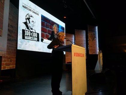 """Carmena propone una estatua en honor a Marcelino Camacho para que """"transmita sus valores"""" a los madrileños"""