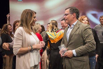 """Susana Díaz valora el reconocimiento de los productos andaluces gracias """"al esfuerzo de las empresas"""""""