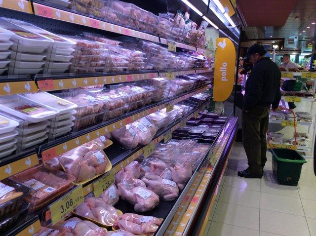 Precios, IPC, inflación, consumo, pollo, pollos, compra, compras, comprar
