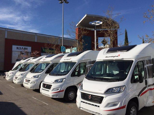 Feria de caravanas en Madrid Xanadú