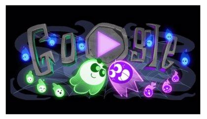 Google invita a los usuarios a celebrar Halloween jugando con su novedoso 'doodle'