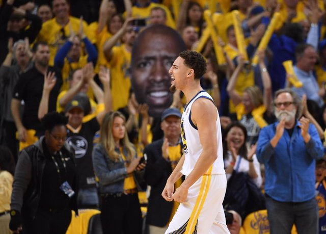 Golden State Warriors Klay Thompson NBA