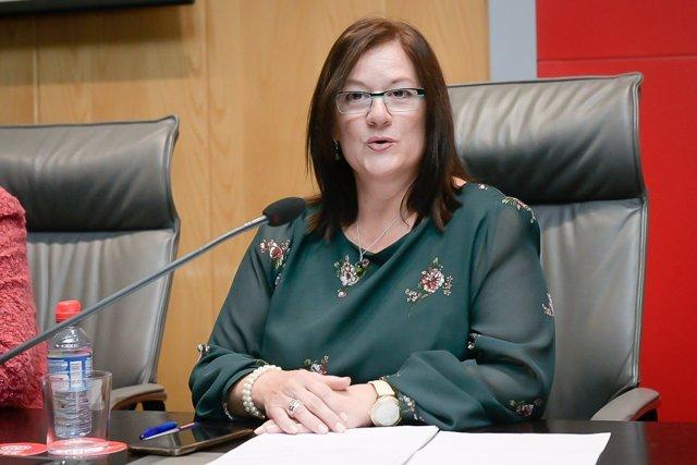 La presidenta de AERyOH, Sonio Fernández