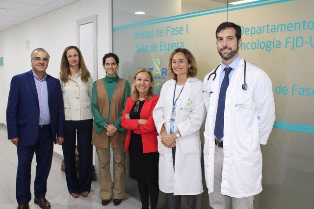 Los investigadores del estudio de la Fundación Jiménez Díaz e INTHEOS