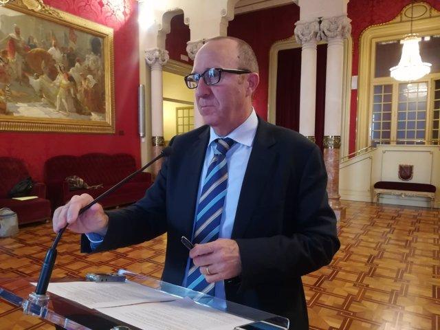 Andreu Alcover (PSIB) en el Parlament