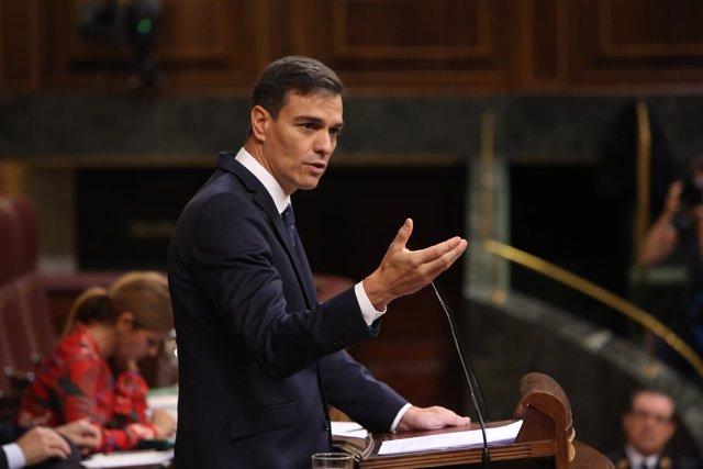 PEDRO SÁNCHEZ INFORMA EN EL CONGRESO SOBRE EL CONSEJO EUROPEO Y SOBRE LA VENTA D