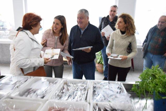 Batriz Rubiño en rueda de prensa en Málaga
