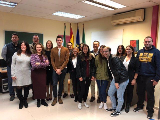 Clausura cursos programa Dipujoven en El Puerto