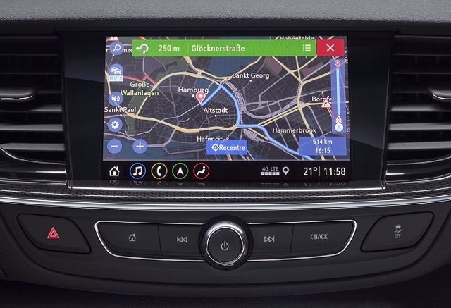 Sistemas de infoentretenimiento de Opel